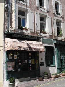 Au Petit Gazouillis restaurant