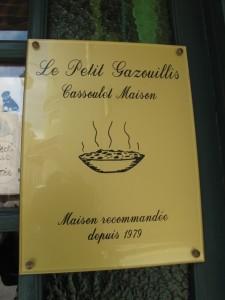 Le Petit Gazouillis sign