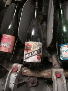 Cantillon vintage bottles