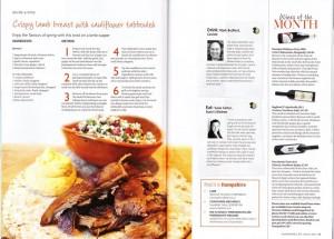 Lamb recipe for Hampshire Life Magazine