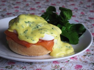Hampshire Eggs Royale