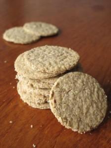 Hazelnut oatcakes